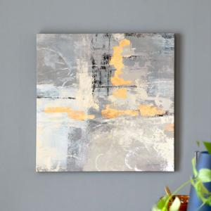 アートパネル モダンアート アブストラクト キャンパス 幅50cm 絵 アート キャンパスアート 壁掛 北欧 ウォールデコレーション おしゃれ バリアート|elements