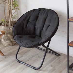 チェア イス 椅子 ソファ 折りたたみ パーソナルチェア 一人掛け 一人用 簡易 黒 bk 一人暮らし 新生活 おしゃれ モノトーン シンプル インテリア