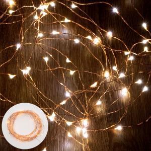 イルミネーションライト LEDライト 電飾 ガーランド クリスマスツリー装飾 ワイヤー USB式 点滅 照明器具 elements