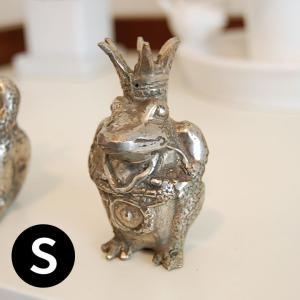 アジアン雑貨・バリ雑貨!ザ・キングオブ・フロッグ。別名カエルの王様です。 リアルなオブジェは見た目よ...