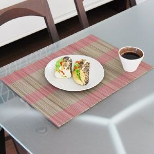 ランチョンマット ピンク おしゃれ アジアン プレイスマット テーブルウェア バリ アジアン 雑貨 和