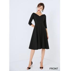レディース ファッション 斜め リトル ドレス オシャレ エ...