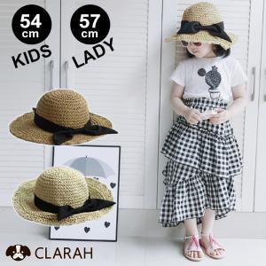 ●ITEM:麦わら帽子 オシャレ 折りたたみ たためる カンカン帽 キッズ レディース ストローハッ...