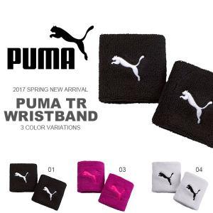 ゆうパケット対応可能! プーマ PUMA TR リストバンド ロゴ キャットロゴ 2個入り 両手 ペア売り メンズ レディース 2017春新作 elephant