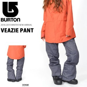 バートン(BURTON)  Veazie Pant 婦人・女性用 18-19 18/19 2018-...
