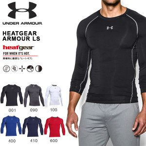 アンダーアーマー UNDER ARMOUR UA HEATGEAR ARMOUR LS メンズ 長袖...
