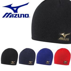ニット帽 ミズノ MIZUNO Pro ミズノプロ ニットキャップ メンズ ブレスサーモ ビーニー 帽子 CAP 防寒 野球 ベースボール 得割20|elephant