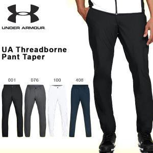 得割30 数量限定 アンダーアーマー UNDER ARMOUR UA Threadborne Pant Taper メンズ ゴルフ パンツ ロングパンツ GOLF ウェア 2018春夏新作 送料無料|elephant