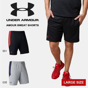 得割40 大きいサイズ ハーフパンツ アンダーアーマー UNDER ARMOUR UA メンズ スウェット ショートパンツ ショーツ 短パン 野球 トレーニング 2019春夏新作|elephant