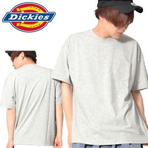 半袖Tシャツ Dickies ディッキーズ メンズ COOLMAX オーバーサイズ ルーズフィット S/S-Tシャツ 天竺 ワッペン ロゴ 35%off|elephant