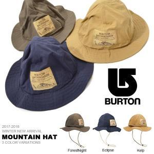 ハット バートン BURTON Mountain Hat メンズ アドベンチャー ハット サファリ 撥水 帽子 スノボ スノーボード 40%off|elephant