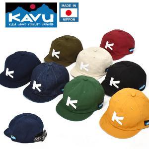 KAVU カブー ベースボール キャップ CAP 帽子 メンズ レディース レトロ クラシック アウトドア  MADE IN NIPPON 日本正規品 19820248 送料無料|elephant
