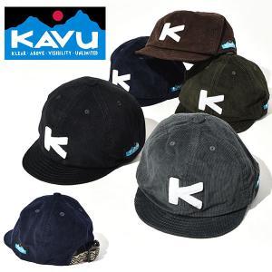 KAVU カブー コード ベースボール キャップ Cord Base Ball Cap 帽子  コーデュロイ  アウトドア MADE IN NIPPON 日本製 2018秋冬新作 送料無料|elephant