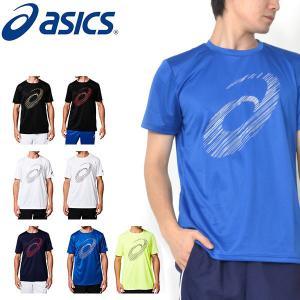 半袖 Tシャツ アシックス asics ショートスリーブトップ メンズ ビッグロゴ ランニング ジョギング ジム トレーニング 2019春夏新作 26%OFF