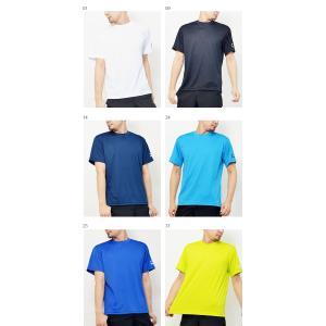 吸汗速乾機能搭載 半袖Tシャツ ミズノ MIZUNO メンズ レディース ワンポイント ランニング ジョギング トレーニング ウェア 21%off プラシャツ スポーツ|elephant|02
