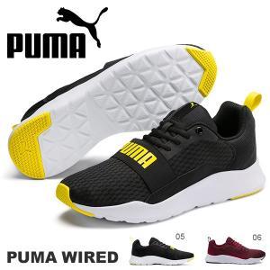 現品のみ 27.0cm スニーカー プーマ PUMA ワイヤード メンズ シューズ 靴 ロゴ ゴアバンド 366970 2019春新作 得割23 elephant