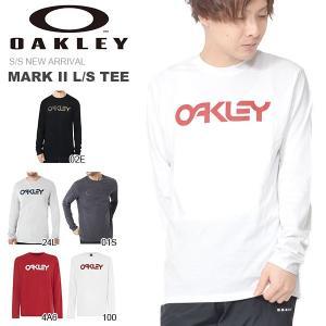 長袖 Tシャツ OAKLEY オークリー メンズ MARK II L/S TEE ロゴ Tシャツ トレーニング スポーツ カジュアル ウェア 2019春夏新作 得割23 elephant