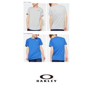 半袖Tシャツ OAKLEY オークリー メンズ ロゴ ワンポイント トレーニング スポーツウェア 日本正規品 30%off|elephant|03