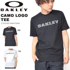 半袖 Tシャツ OAKLEY オークリー メンズ CAMO LOGO TEE カモフラ 迷彩 ロゴ シャツ トレーニング スポーツ カジュアル ウェア 2019春夏新作 得割20 elephant