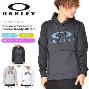 長袖 パーカー ジャケット OAKLEY オークリー Enhance Technical Fleece Hoody.QD 8.7 パーカー プルオーバー 461701jp 日本正規品 2018秋冬新作 送料無料|elephant