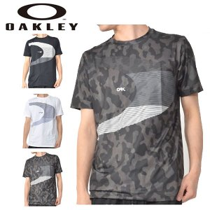 水陸両用 半袖 ラッシュ Tシャツ OAKLEY オークリー メンズ ラッシュガード UVカット UPF50+ プール 海 サーフィン 日本正規品 2019春夏新作 得割20|elephant