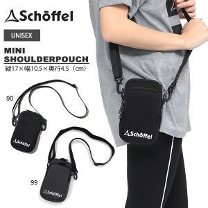 ミニショルダーポーチ ショッフェル schoffel メンズ レディース MINI SHOULDER...