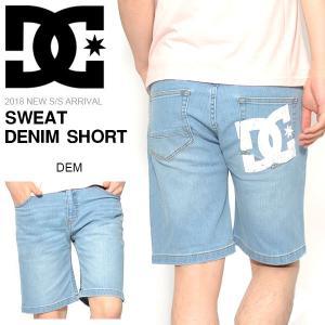 スウェットハーフパンツ DC Shoes ディーシー シューズ メンズ SWEAT DENIM SHORT スエット デニム ショート 2018春夏新作 15%off|elephant