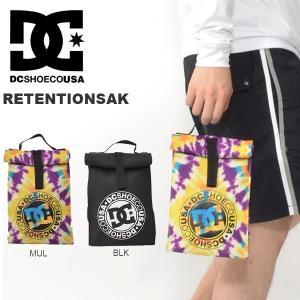 ランチバッグ DC Shoes ディーシー シューズ メンズ RETENTIONSAK ロゴ マルチケース ポーチ ランチ お弁当 2017春新作 25%off|elephant