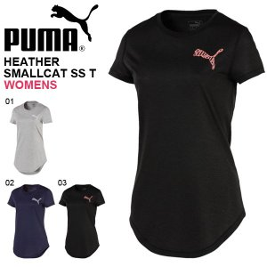 PUMA HEATHER SMALL CAT SS T-SHIRT プーマ ヘザー スモールキャット...