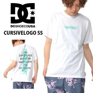 ゆうパケット対応可能! 半袖Tシャツ DC SHOES ディーシー シューズ メンズ CURSIVELOGO SS ロゴTシャツ 2019春夏新作 25%off elephant