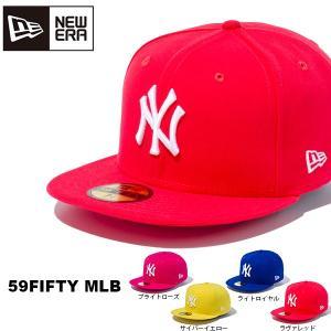 NEW ERA ニューエラ 59FIFTY MLB ニューヨーク・ヤンキース キャップ メンズ レディース 帽子 35%off|elephant