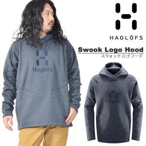 プルオーバー ニットフリース パーカー Haglofs ホグロフス Swook Logo Hood スウォック ロゴ フード メンズ マウンテン クライミング 国内正規品 603729|elephant