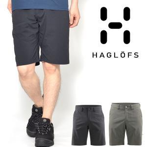 送料無料 ショートパンツ Haglofs ホグロフス メンズ Mid Solid Shorts Men ハーフパンツ 2018春夏新作 アウトドア 撥水加工|elephant