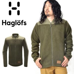 暖か Polartec パイル フリース ジャケット Haglofs ホグロフス Pile Jacket パイル ジャケット メンズ マウンテン クライミング 国内正規品 604335|elephant