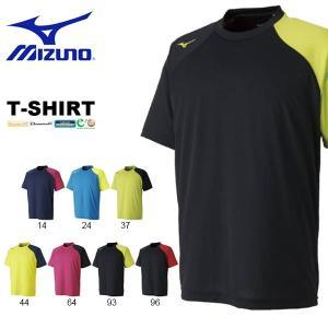 半袖 Tシャツ ミズノ MIZUNO メンズ レディース テニス ソフトテニス バドミントン プラクティスシャツ トレーニング ウェア 2018春夏新作 得割20|elephant