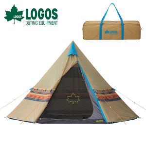 ロゴス LOGOS ナバホTepee 400 テント 3〜4人用 アウトドア 野外フェス 送料無料|elephant