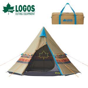 ロゴス LOGOS ナバホTepee 300 テント 2〜3人用 アウトドア 野外フェス 送料無料|elephant
