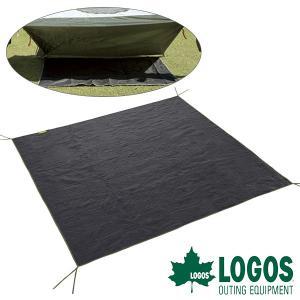 ロゴス LOGOS テントぴったりグランドシート・XL インナーシート アウトドア キャンプ|elephant