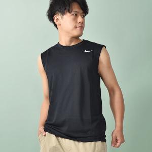 ナイキ NIKE メンズ ドライフィット レジェンド S/L Tシャツ ノースリーブ トレーニングシャツ スポーツウェア ランニング 20%OFF