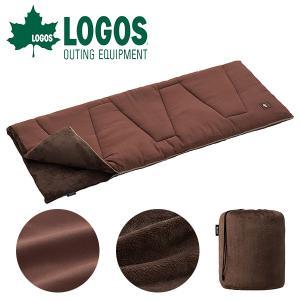 LOGOS(ロゴス)丸洗いソフトタッチシュラフ・-4  本来、保温性を高めるためには多くの中綿を必要...