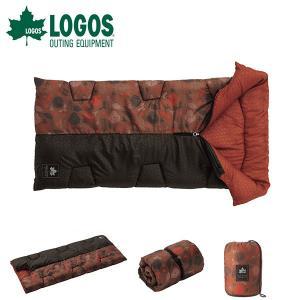 ロゴス LOGOS 封筒型 シュラフ 寝袋 丸洗いデザインセンタージップKIDS・-2 プランツ 寝...