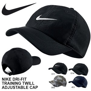 ナイキ NIKE DRI-FIT トレーニング ツイル アジャスタブル キャップ 帽子 メンズ レディース CAP 熱中症対策 日射病予防 729507 2018冬新色 26%OFF