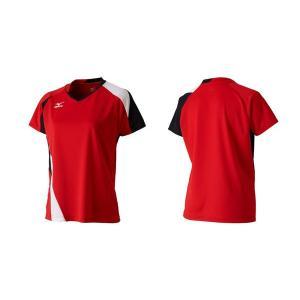 半袖 Tシャツ ミズノ MIZUNO レディース ゲームシャツ テニス バドミントン ソフトテニス ウェア ゲームウエア 得割20|elephant|02