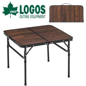 ロゴス LOGOS Tracksleeper テーブル6060 折りたたみ 高さ調節 バーベキュー ...