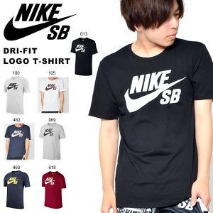 半袖Tシャツ ナイキ エスビー NIKE SB DRI-FIT ロゴ Tシャツ メンズ 821947 2018春新色 10%off ブラック ホワイト|elephant