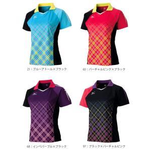 半袖 ミズノ MIZUNO 卓球 ゲームシャツ...の詳細画像1