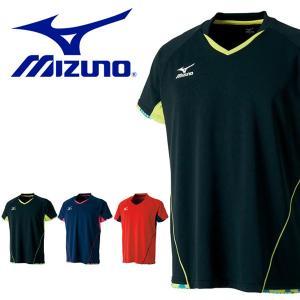 半袖 Tシャツ ミズノ MIZUNO メンズ レディース ゲームシャツ 卓球 ウェア ゲームウエア 得割20|elephant
