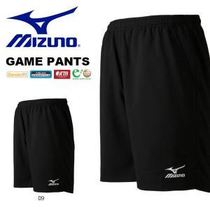 ミズノ MIZUNO メンズ レディース ゲームパンツ 卓球 ウェア ショートパンツ ショーツ 短パン ゲームウエア 得割20|elephant