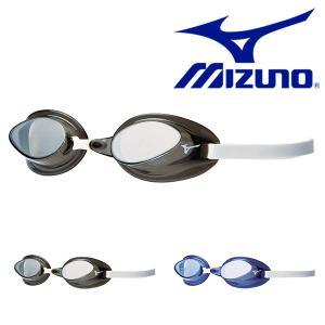 スイミングゴーグル MIZUNO ミズノ メンズ レディース トレーニング用 ノンクッションタイプ 水泳 競泳 得割21|elephant