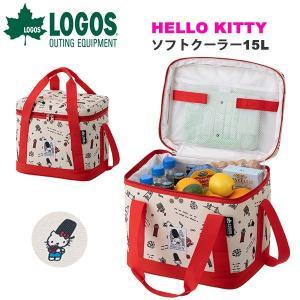 ロゴス LOGOS HELLO KITTY ソフトクーラー 15L 保冷バッグ 折りたたみ ソフトクーラーボックス アウトドア ピクニック 86003694|elephant